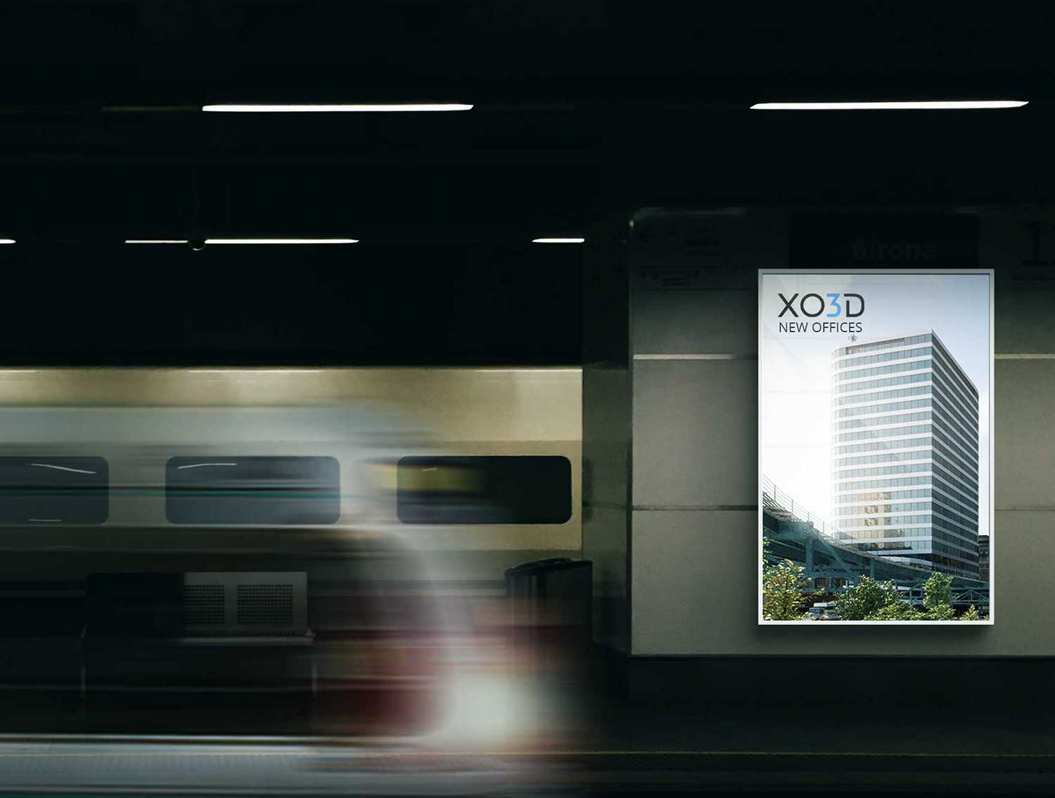 Architectural Visualization Transport Advert Example