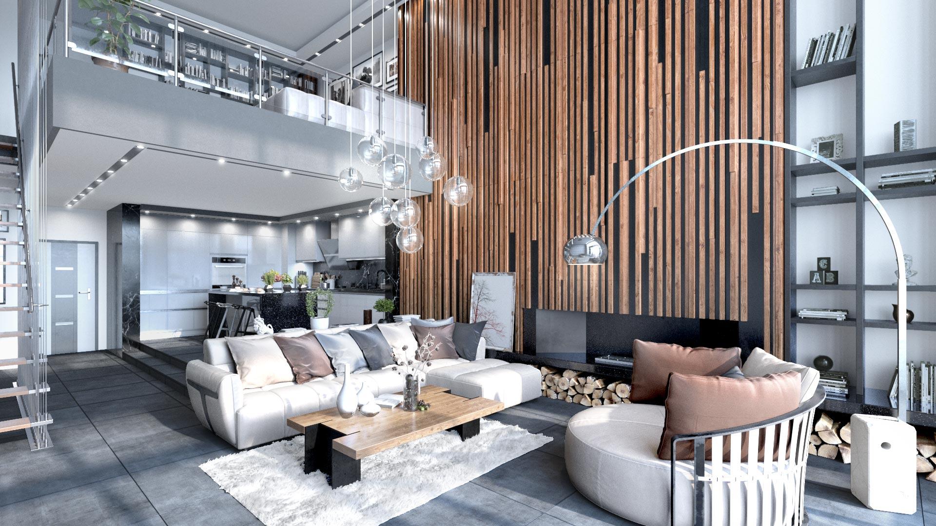 Residential Interior Visualization