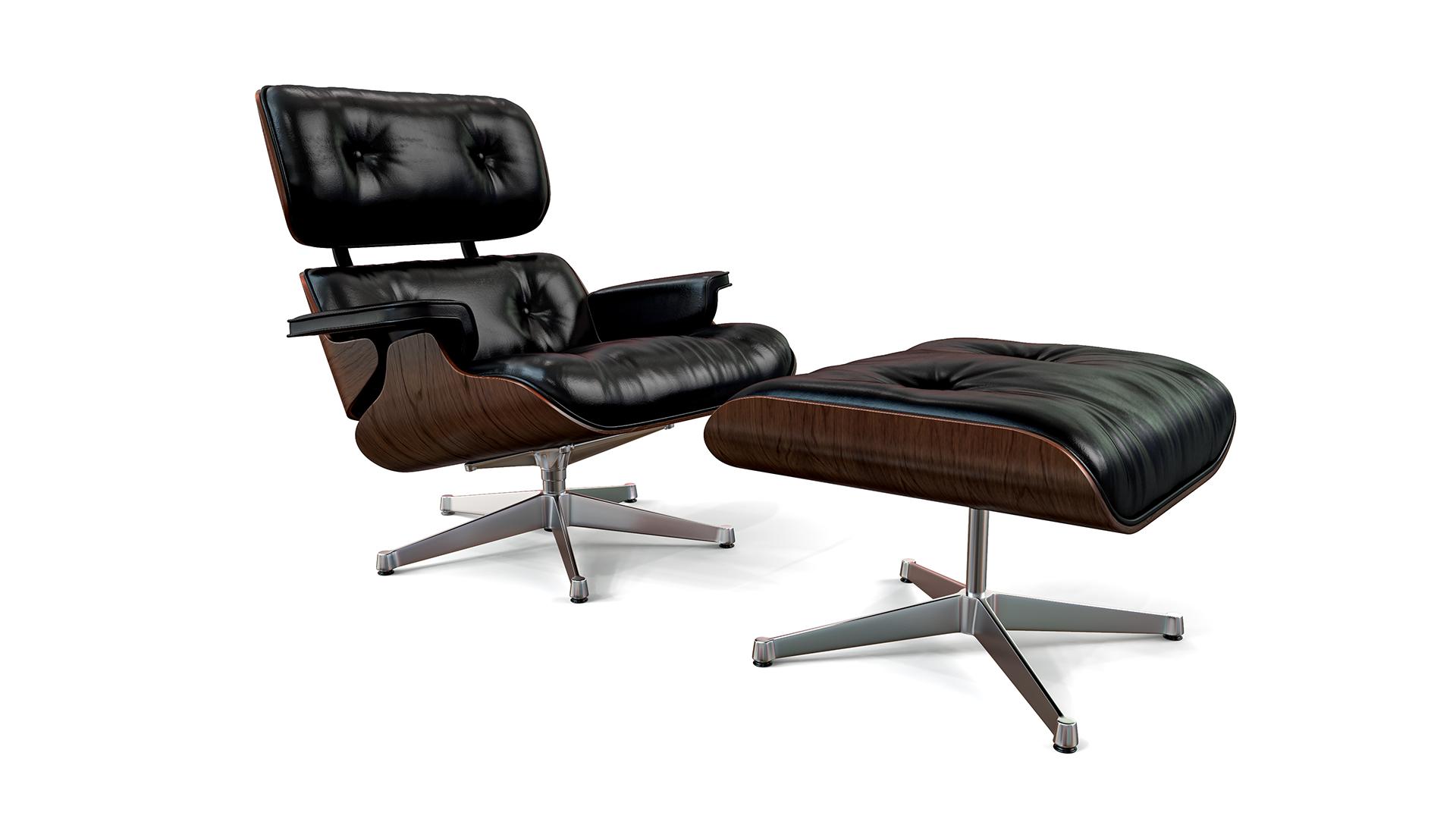 Furniture Studio Rendering Chair