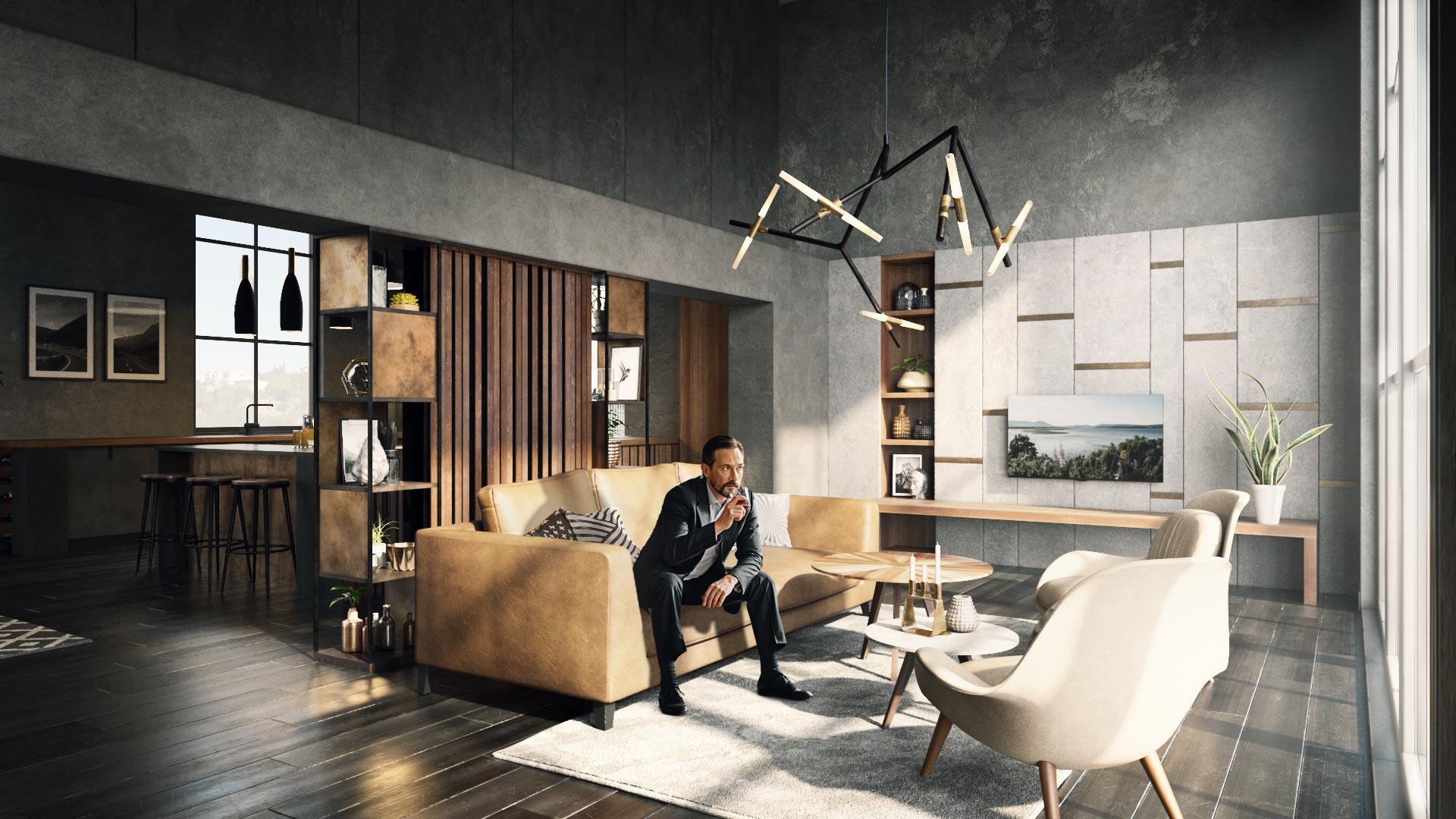 Lounge Interior Visual