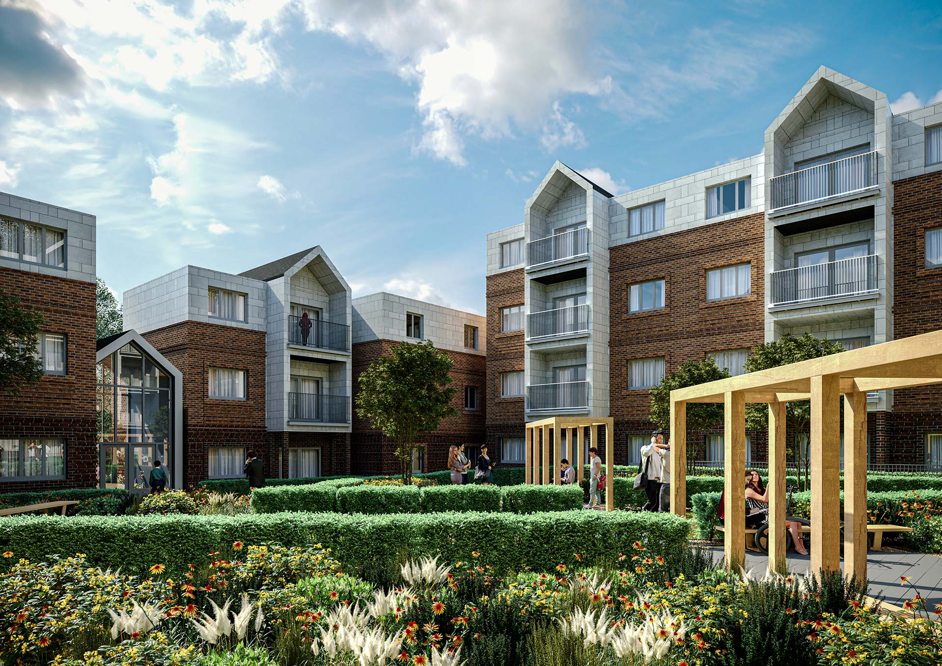 Architectural Visualisation of Flats
