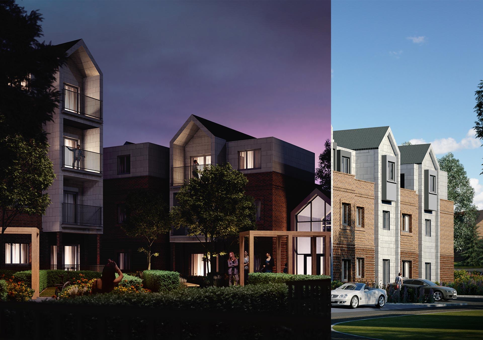 Seven Oaks Architectural Visual