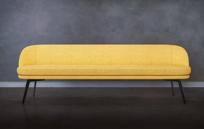 Yellow Bench Product Marketing Image