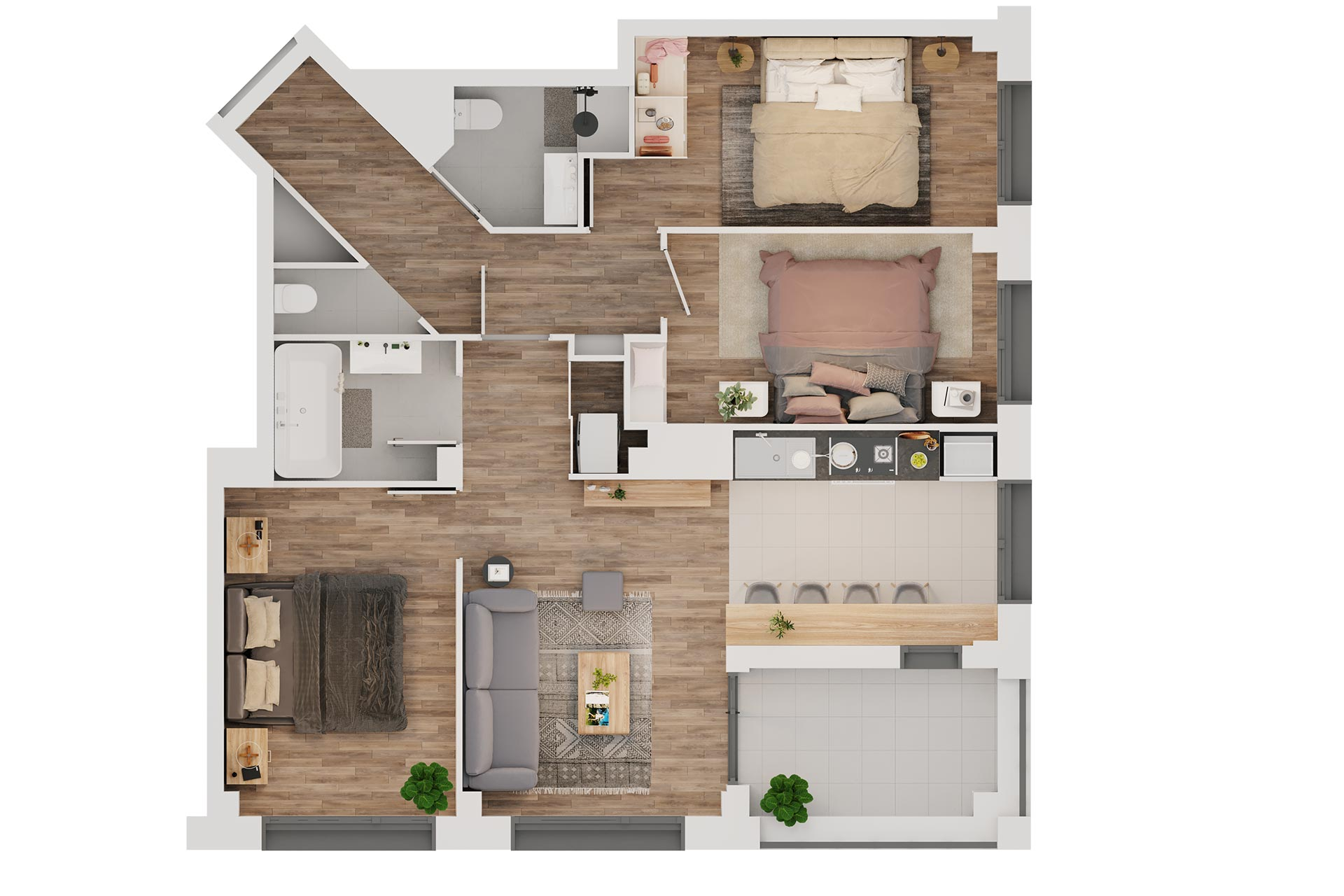 Interior 3D Floor plan