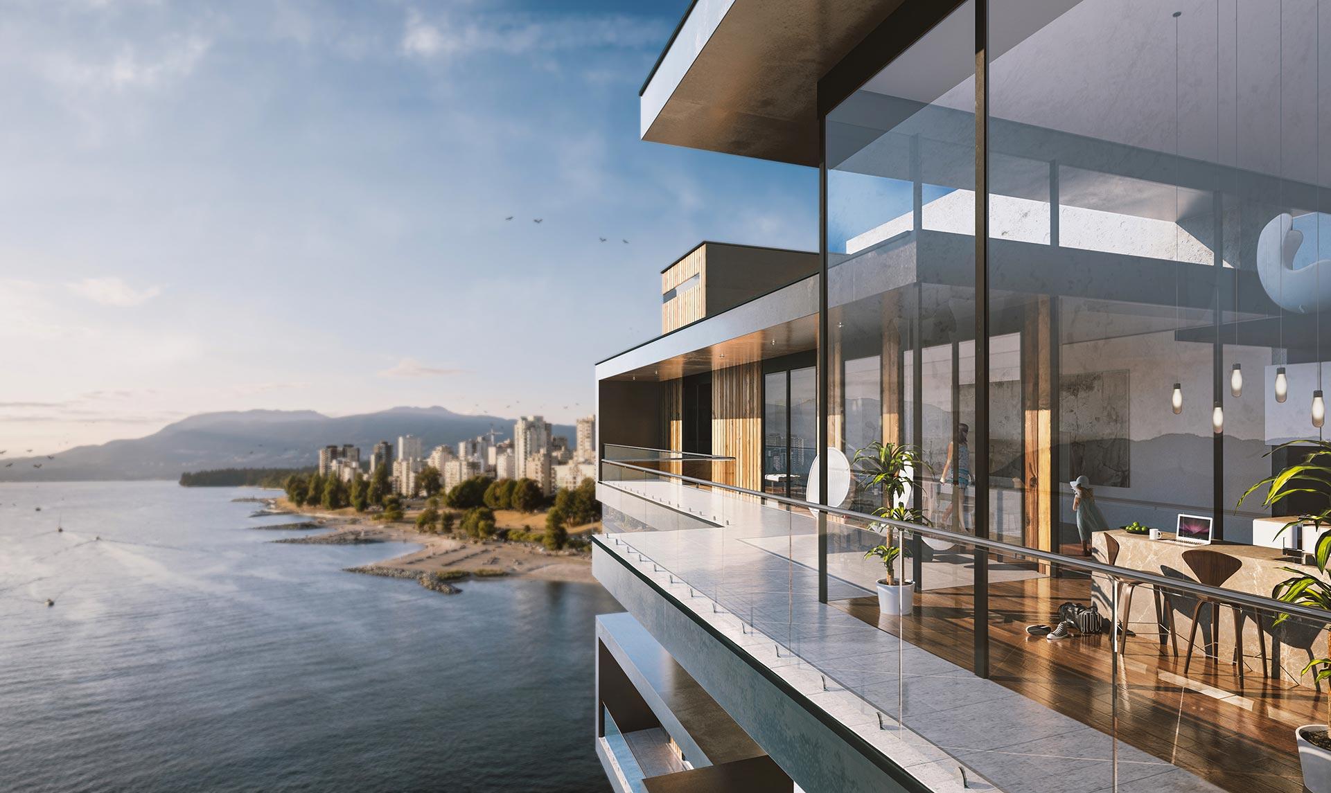 Penthouse 3D Rendering