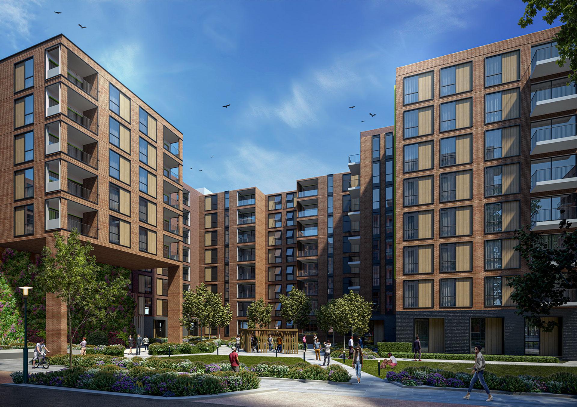 Rom Valley Block D 3D rendering