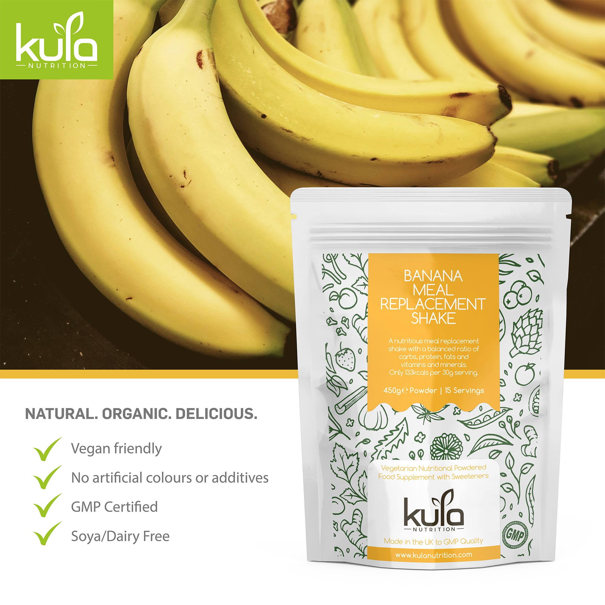 Banana Meal replacement Concept 6