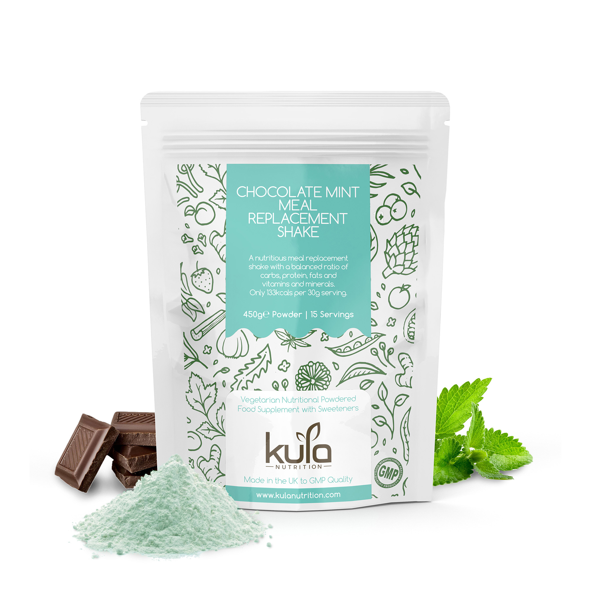 Chocolate Mint Pack E-Commerce Render