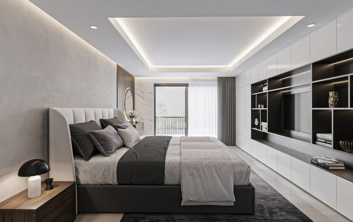 Chigwell Interior Bedroom Render