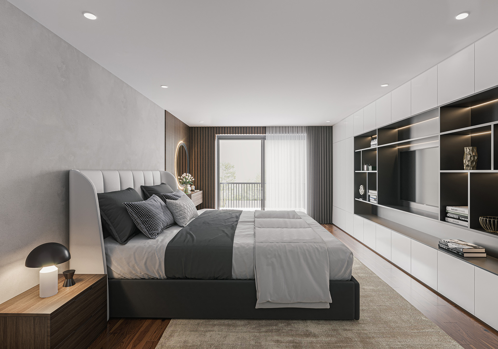 Chigwell Interior Bedroom Rendering