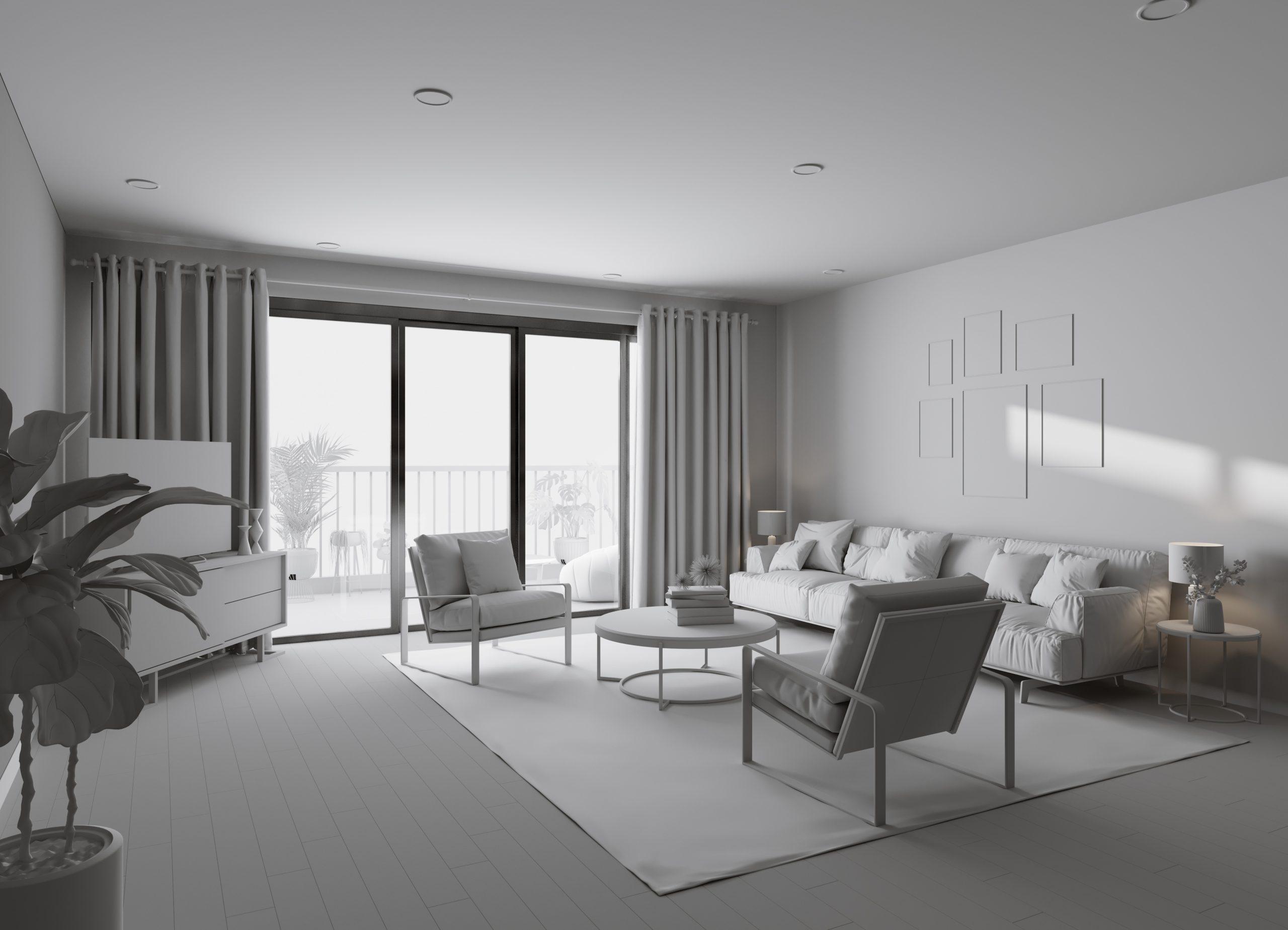 Livingroom Interior Model