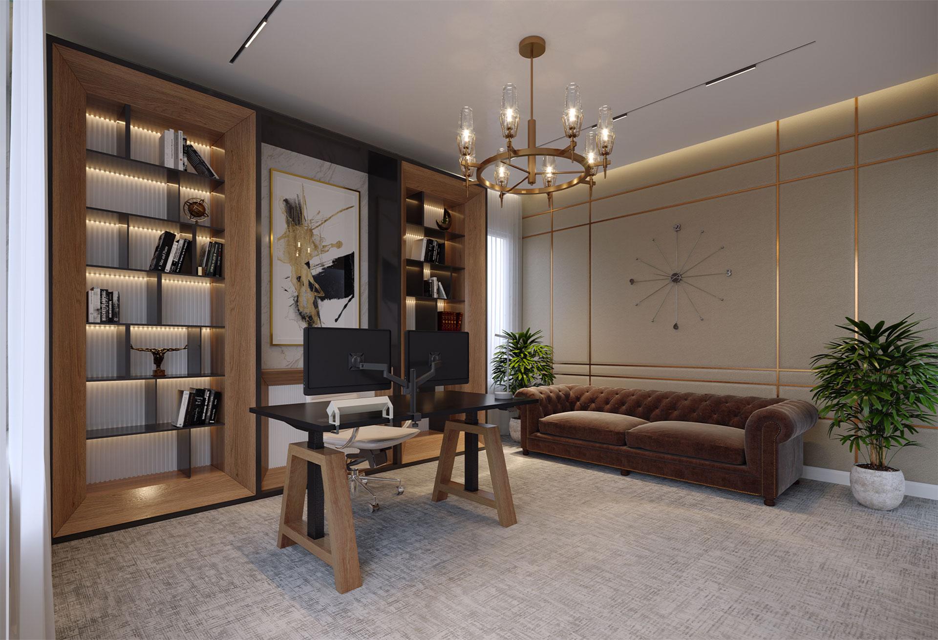 MT Millar - Furniture Renders Home Office