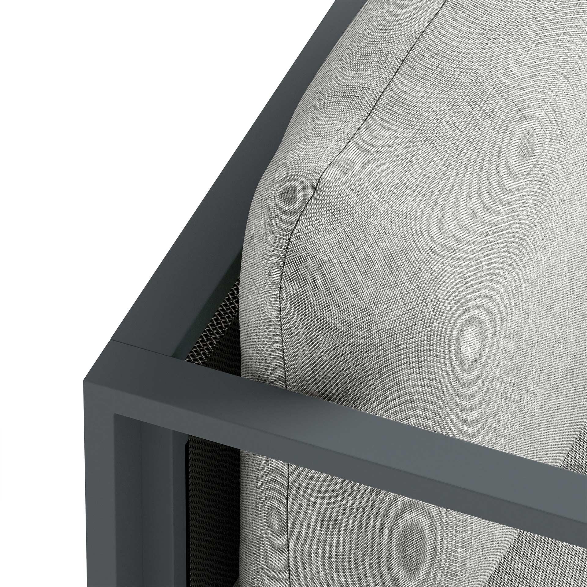 Maureen Furniture CGI Close Up Rendering Light Grey