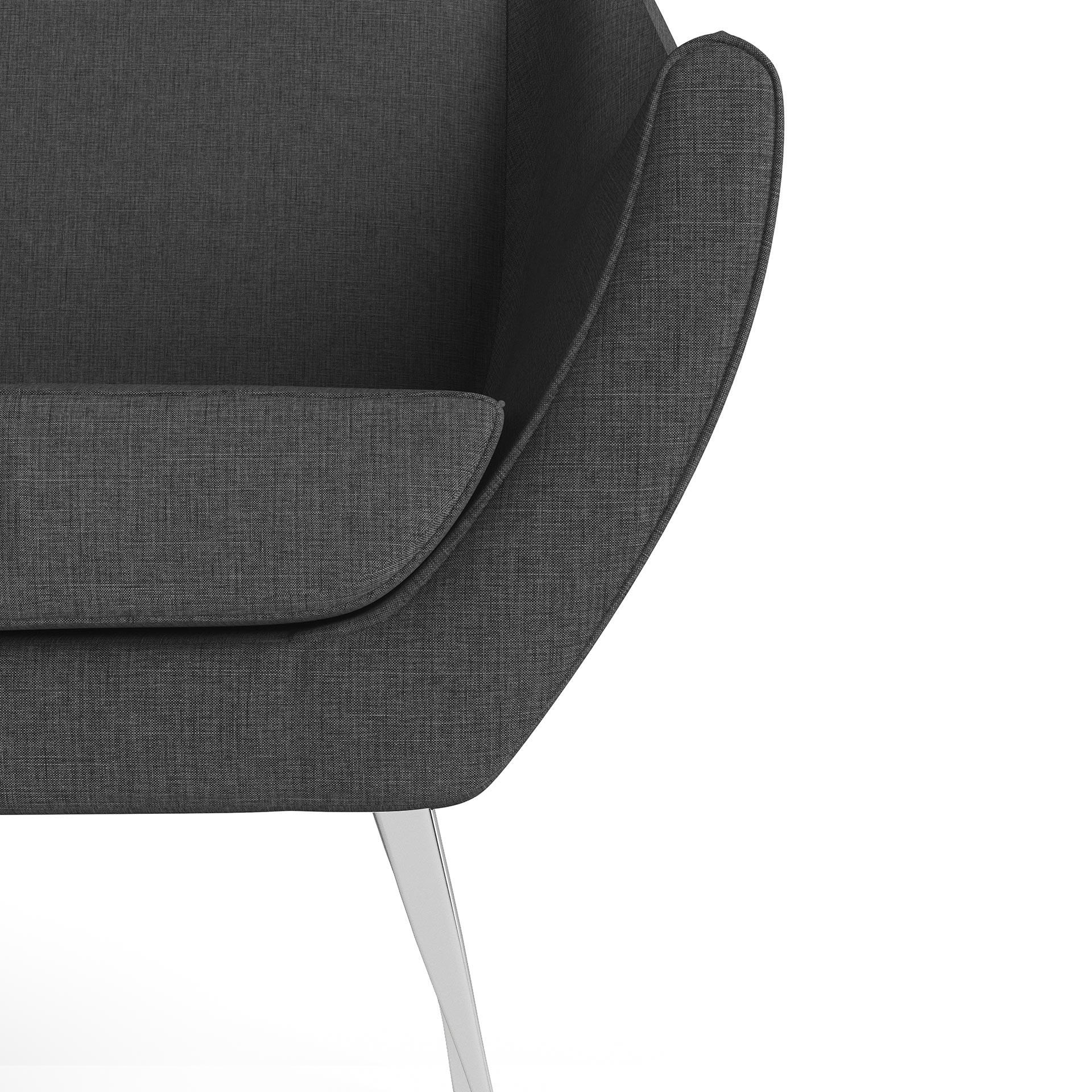 Rita Furniture Close Up Rendering Dark Grey