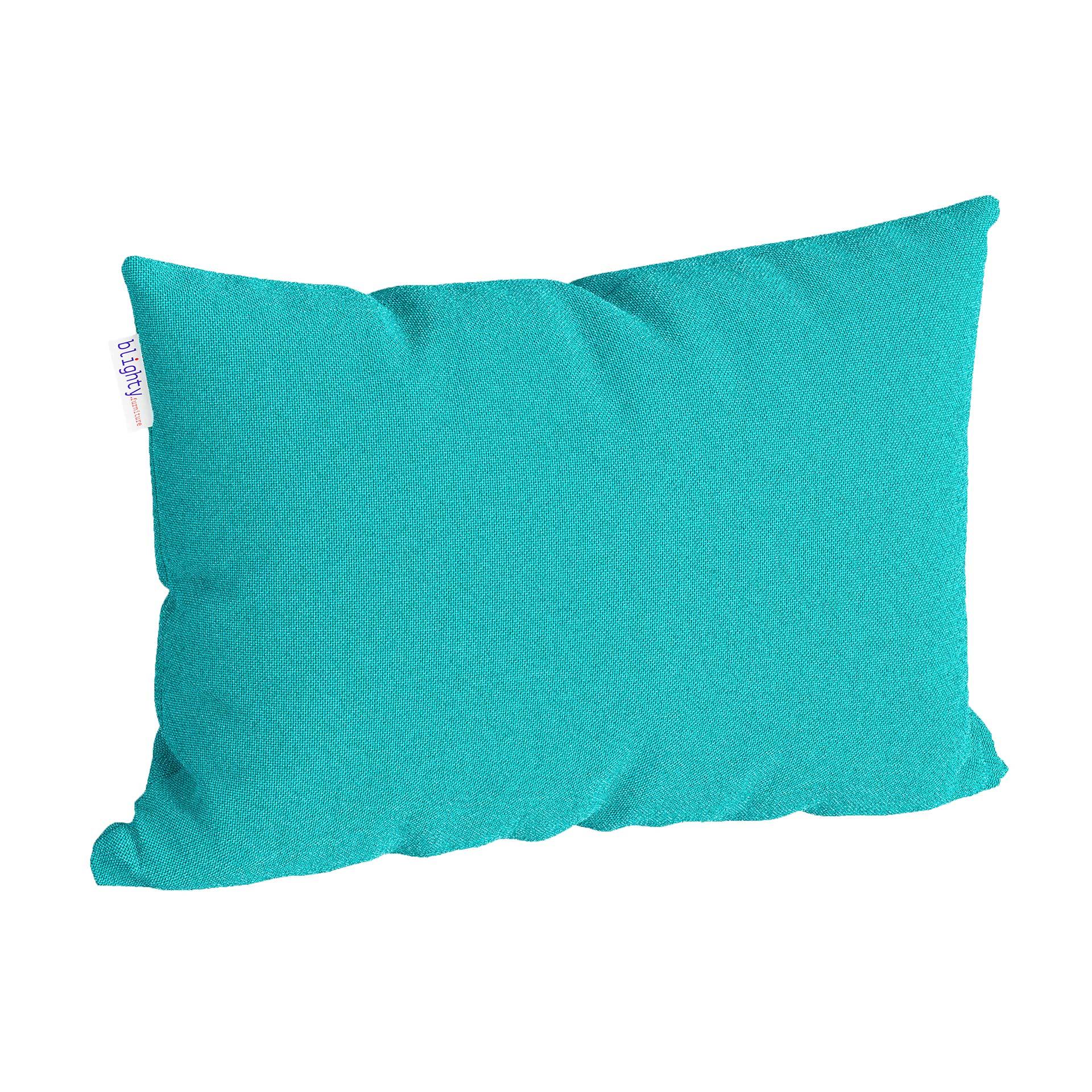 Scatter Pillow Corner Render Blue