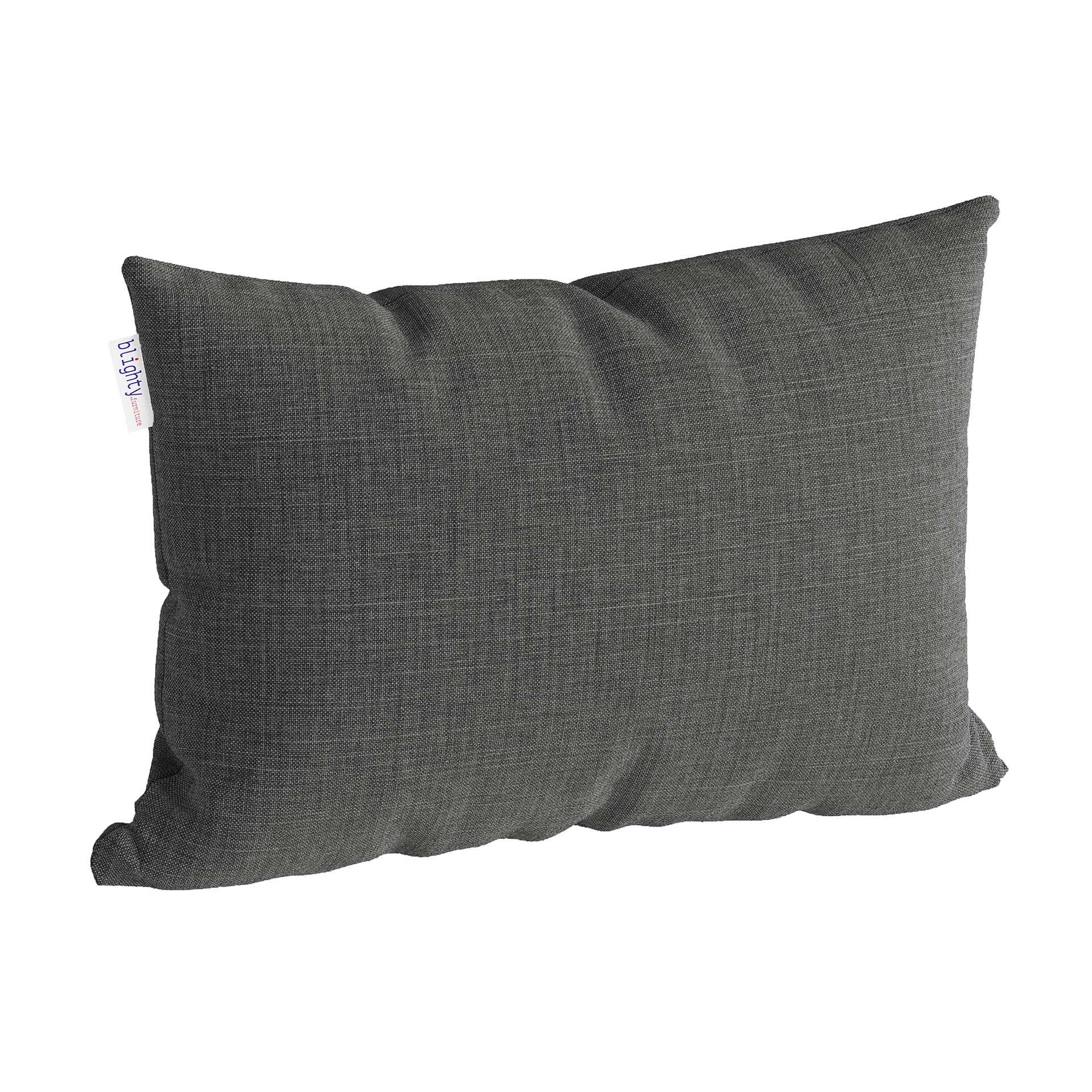 Scatter Pillow Corner Render Dark Grey