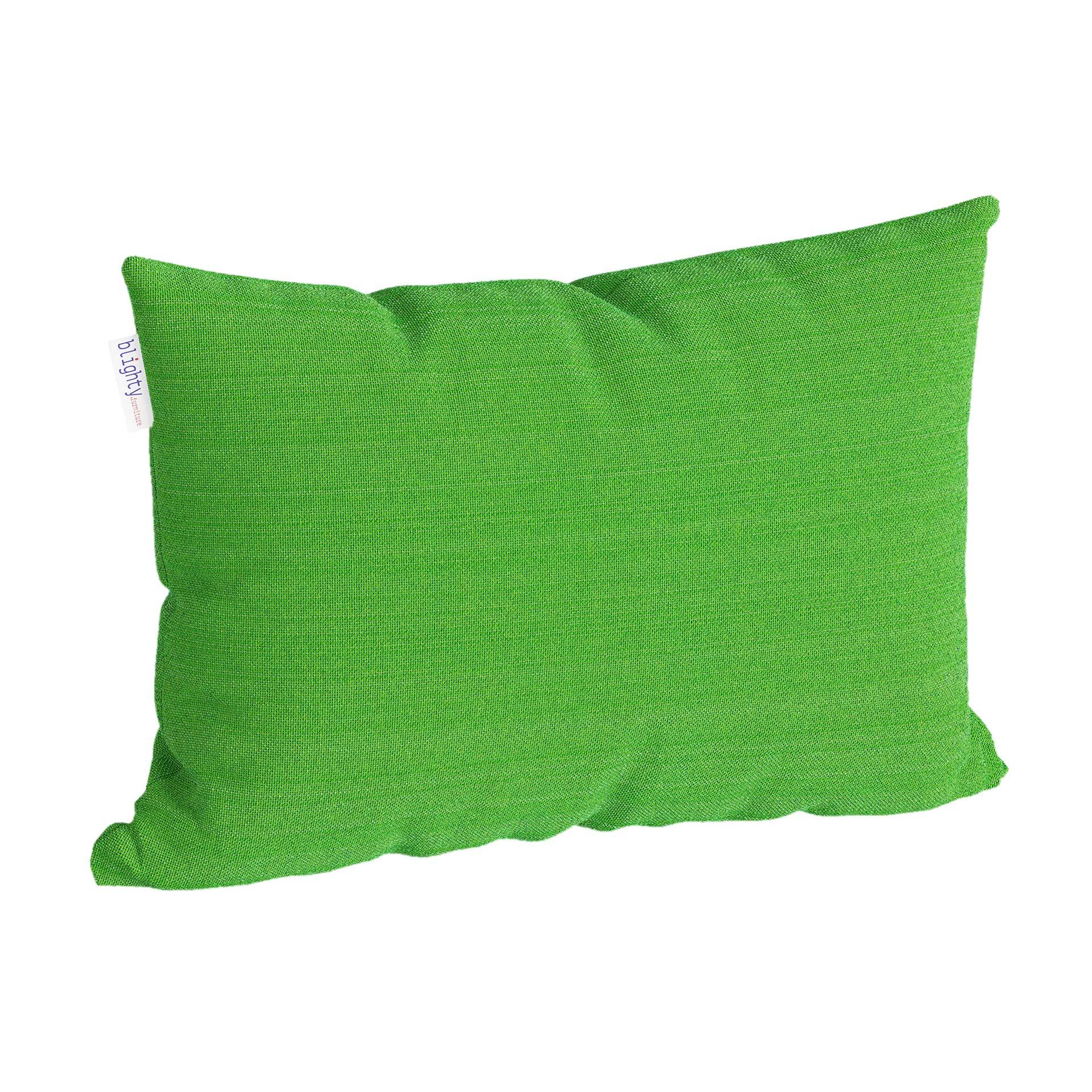 Scatter Pillow Corner Render Green