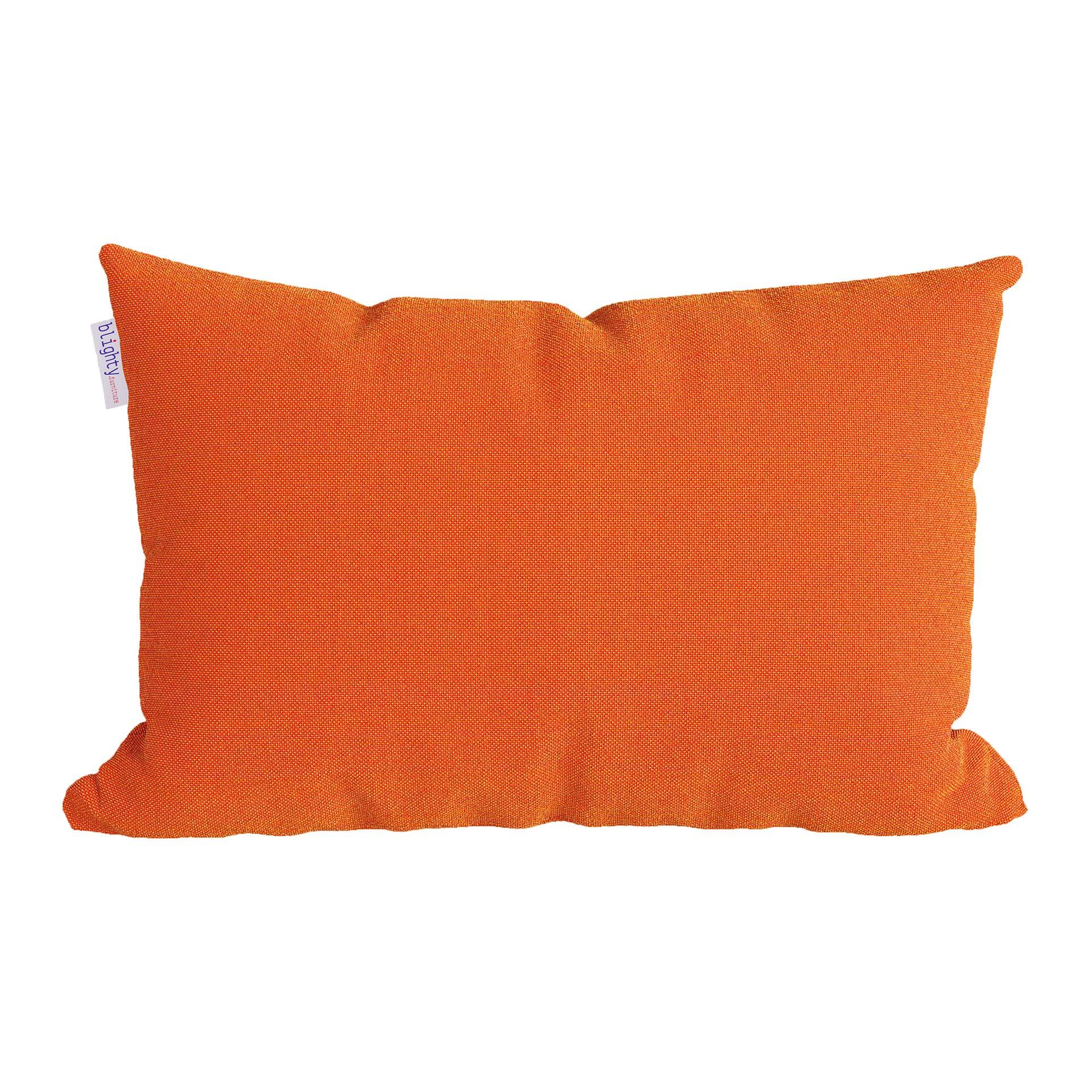 Scatter Pillow Front Render Orange