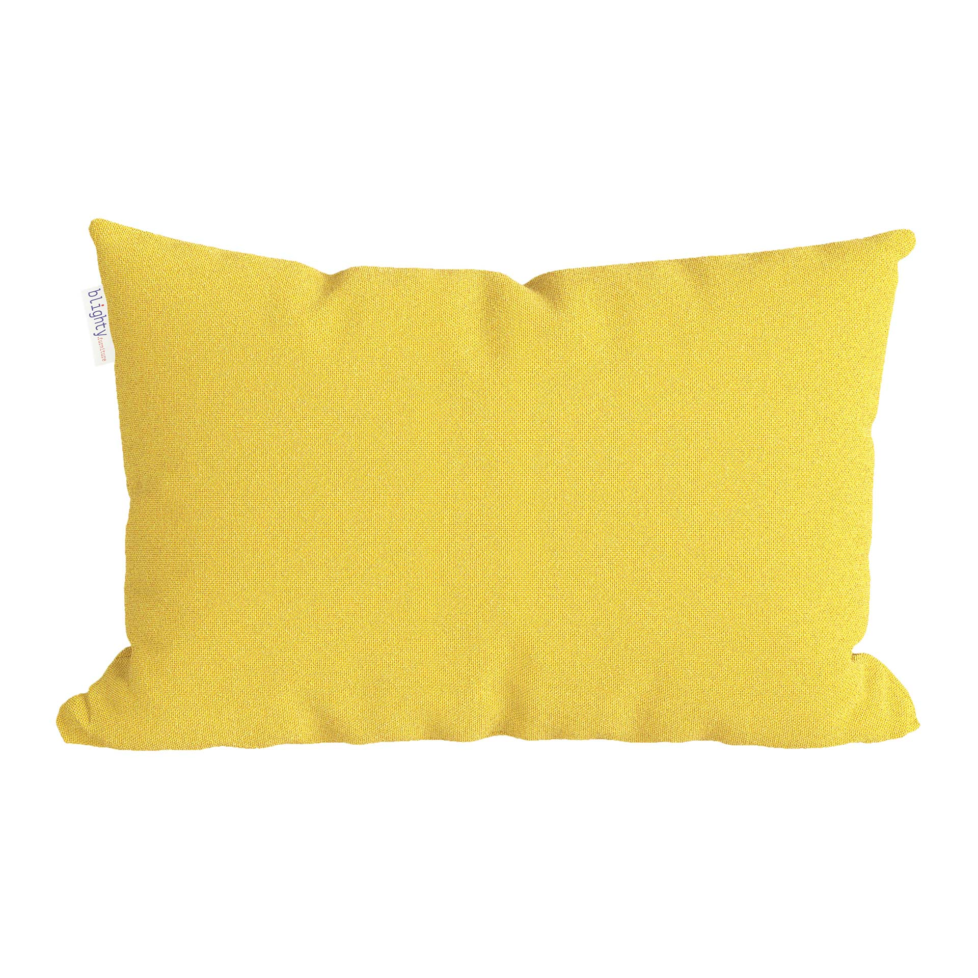 Scatter Pillow Front Render Yellow