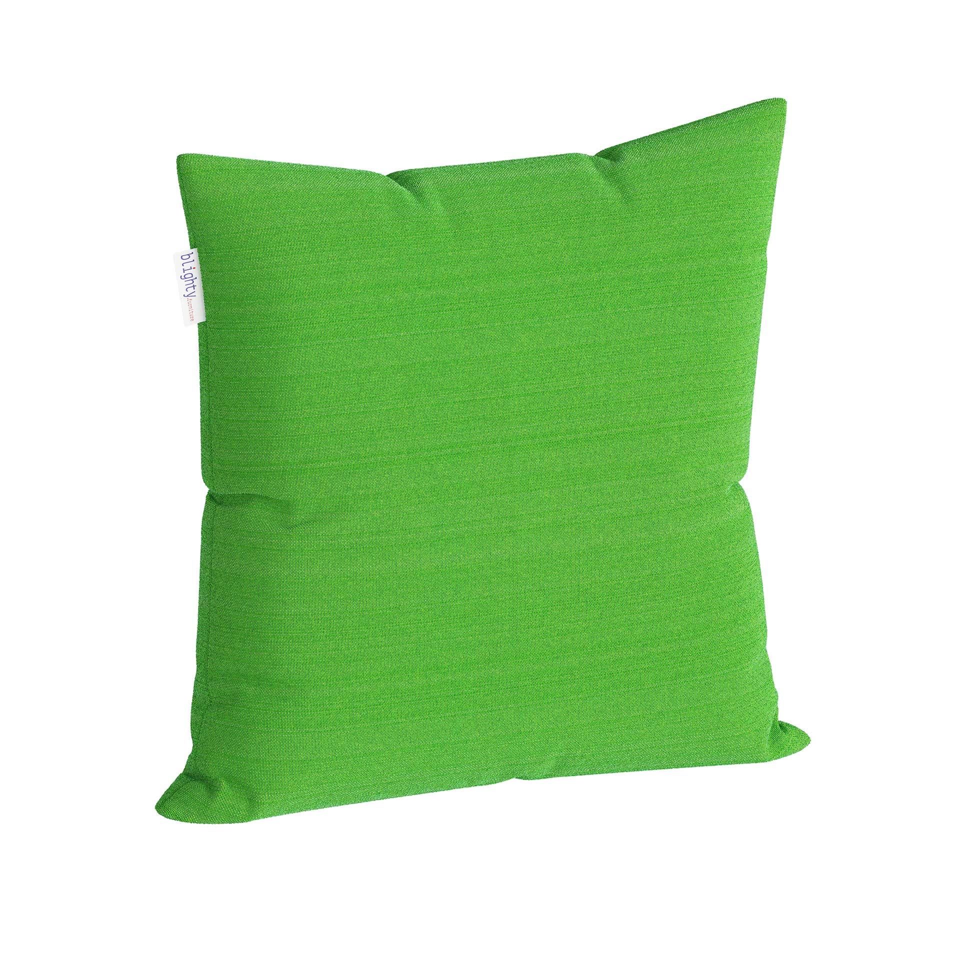 Scatter Square Pillow Corner View Green