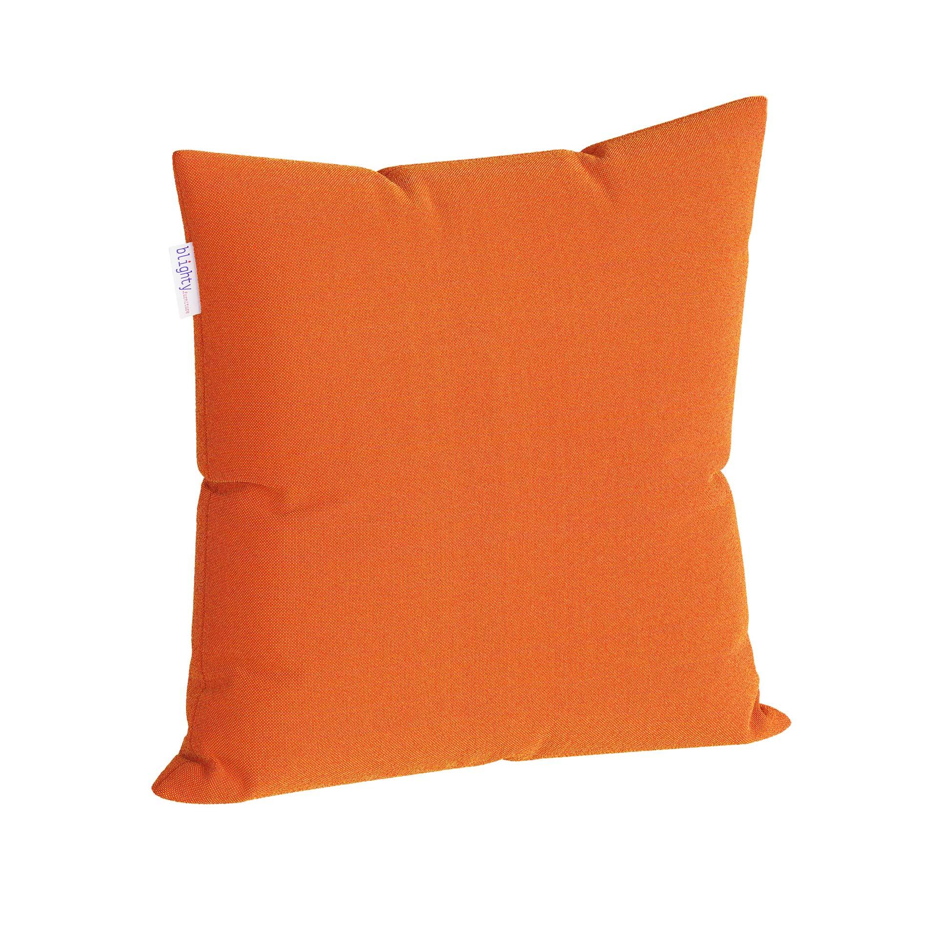 Scatter Square Pillow Corner View Orange