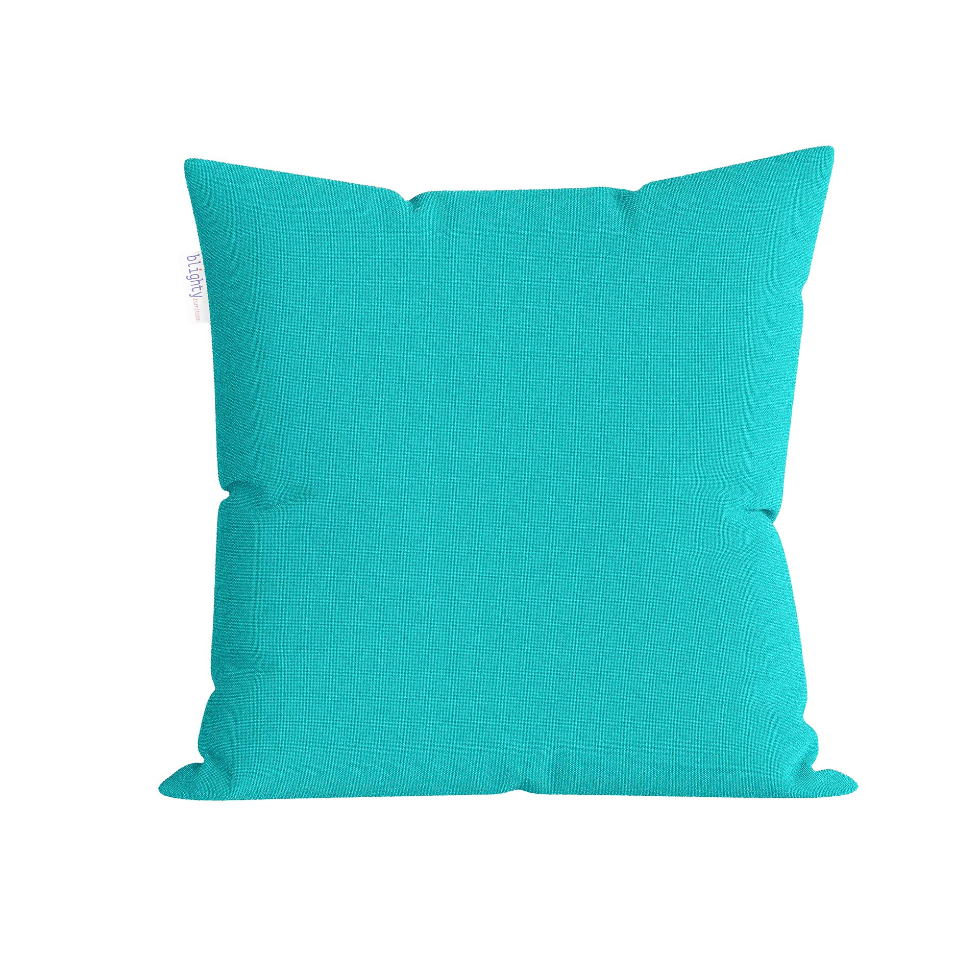 Scatter Square Pillow Front View Blue