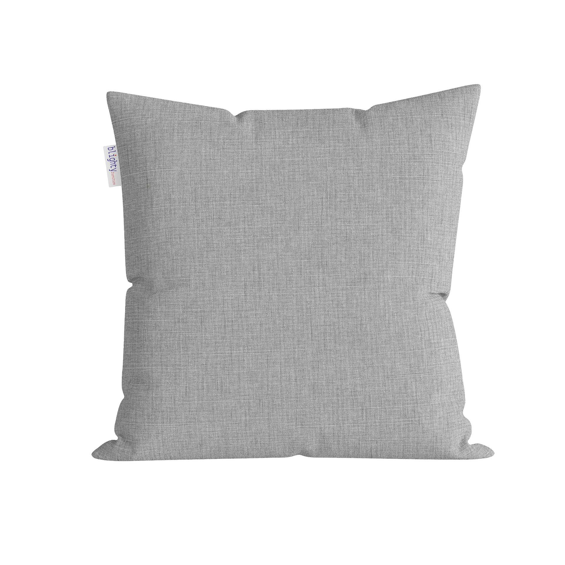 Scatter Square Pillow Front View Light Grey-2