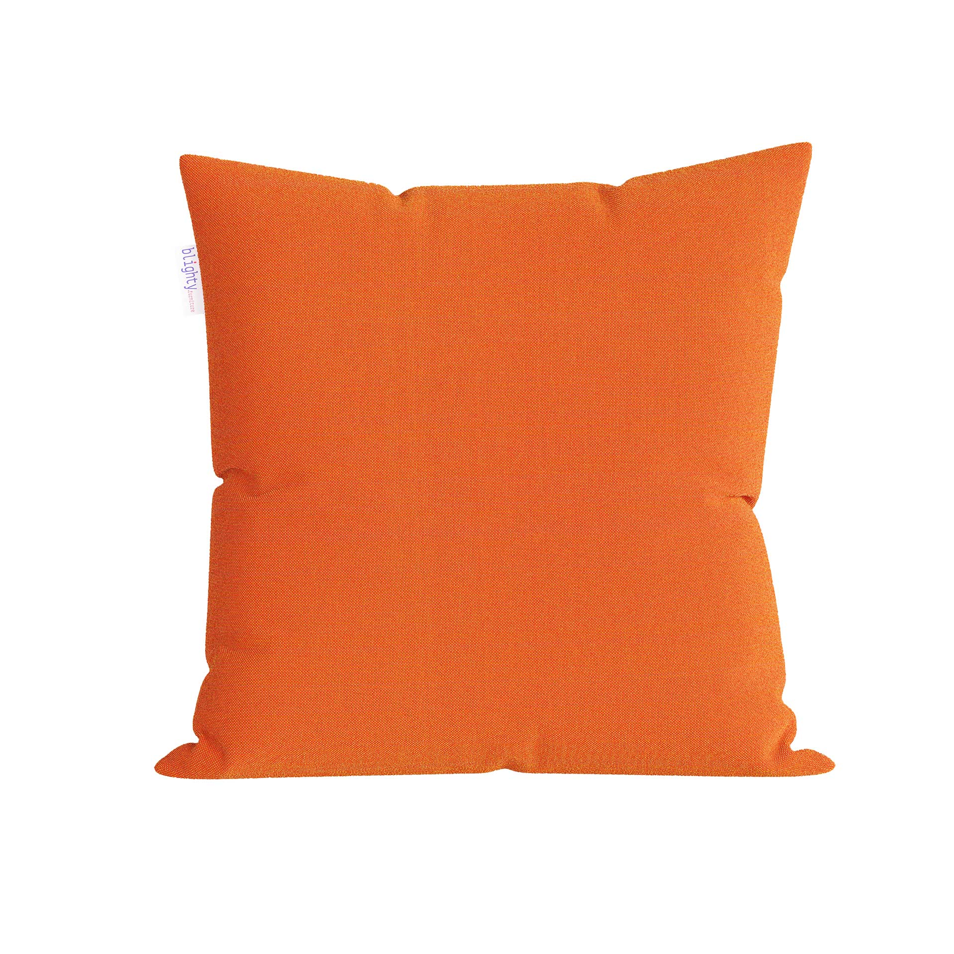 Scatter Square Pillow Front View Orange