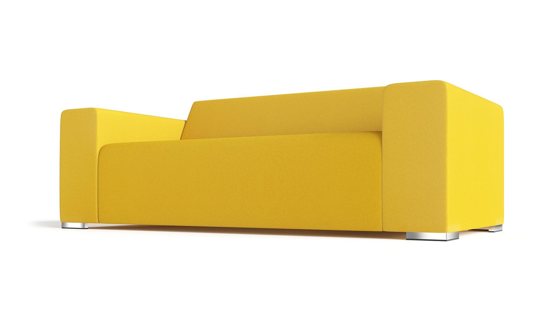 Sontana Sofa Rendering Yellow