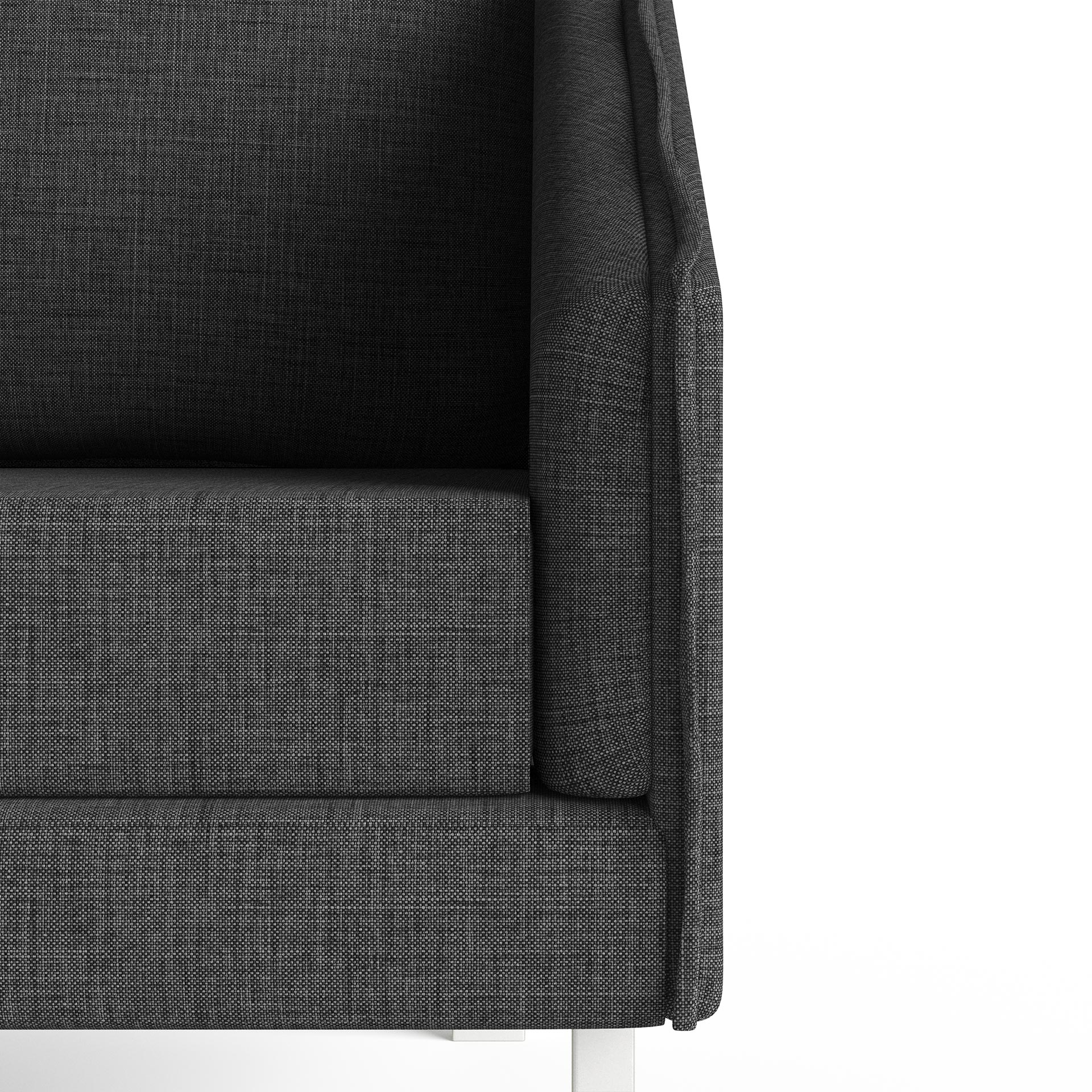 Tracey Highly Detailed Close Up Chair Dark Grey