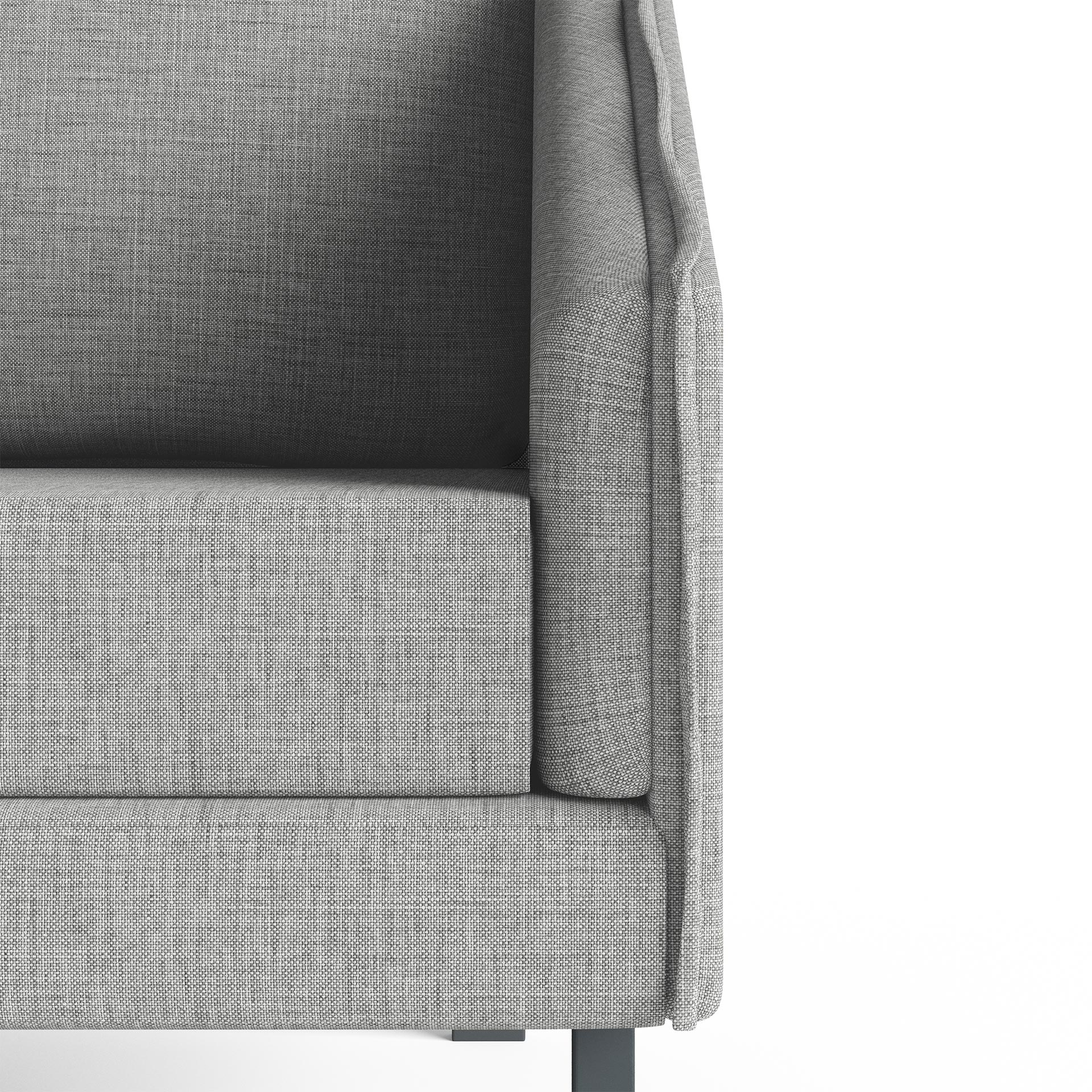 Tracey Highly Detailed Close Up Chair Light Grey