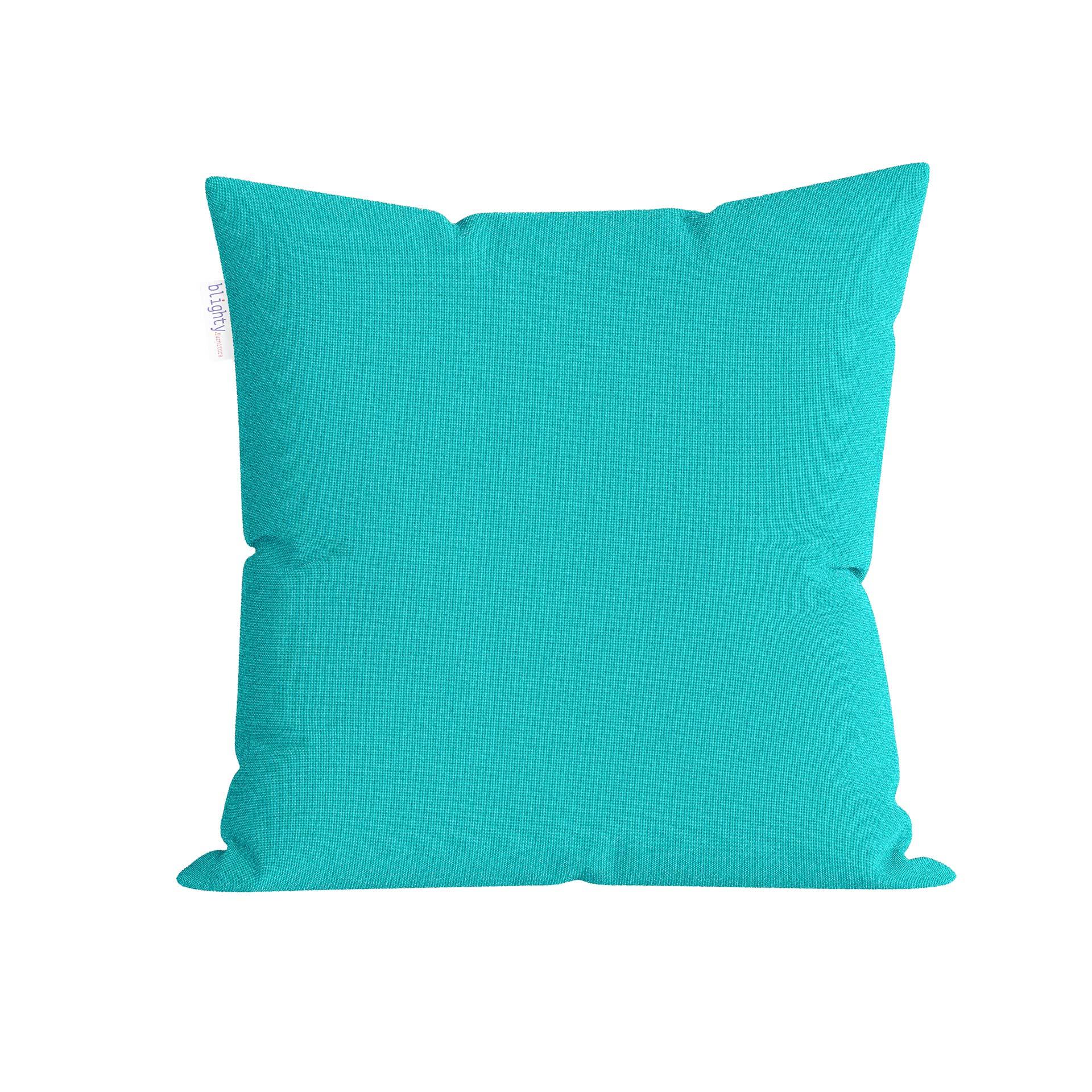 Amazon Image Blue Pillow